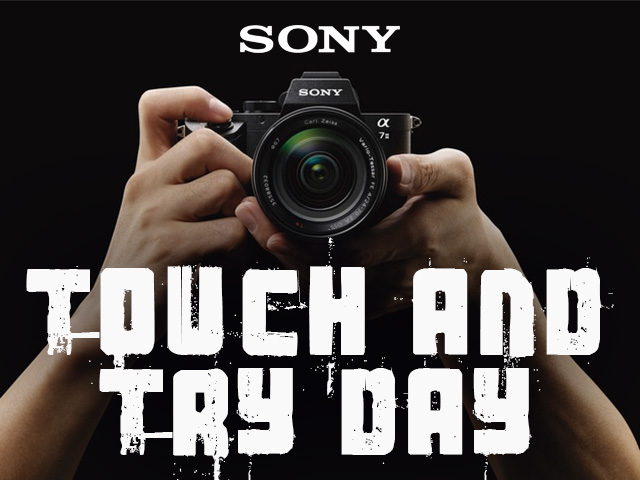 Sony Touch and Try Day