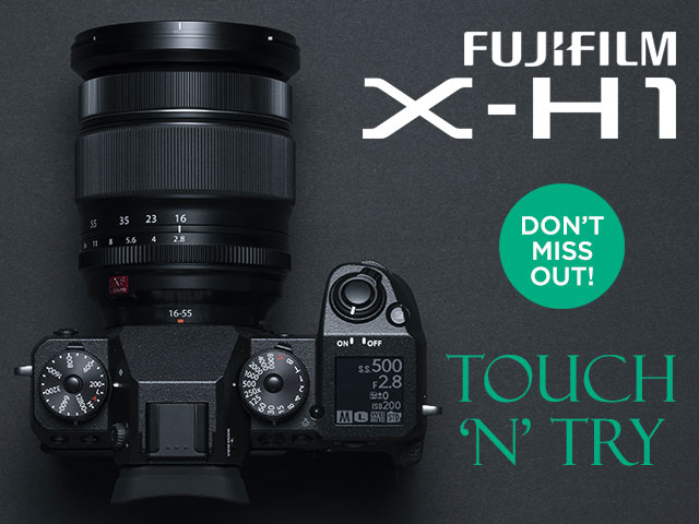 Fujifilm X-H1 touch & try day