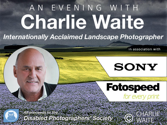 An evening with Charlie Waite **Sold Out**