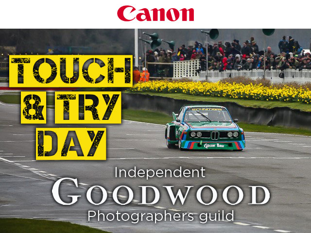 Canon EOS Touch & Try day at Goodwood Motor Circuit