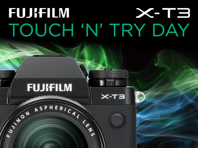 Fujifilm X-T3 Touch and Try
