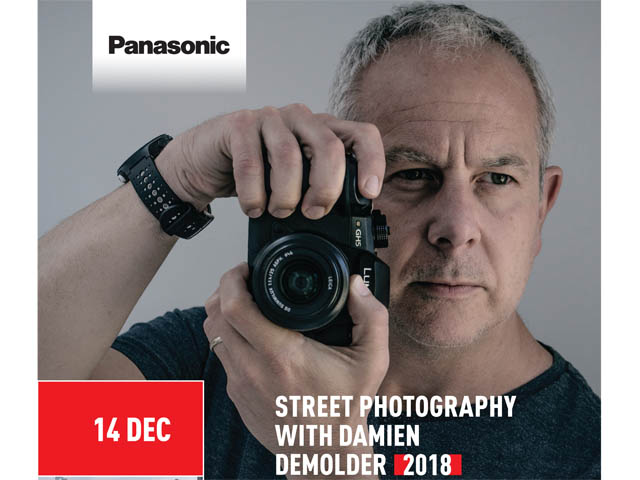 Booking for Lumix G Photography - Street Photography with Damien Demolder, Hotel Du Vin, Exeter 14th December 2018