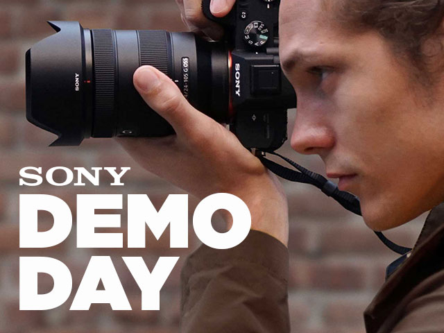 London Camera Exchange | Events |Sony In-store Demo Day
