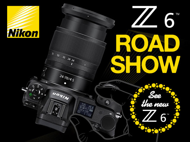 Nikon Z6 In Store Touch & Try Day
