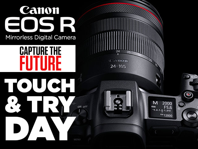 EOS R instore day