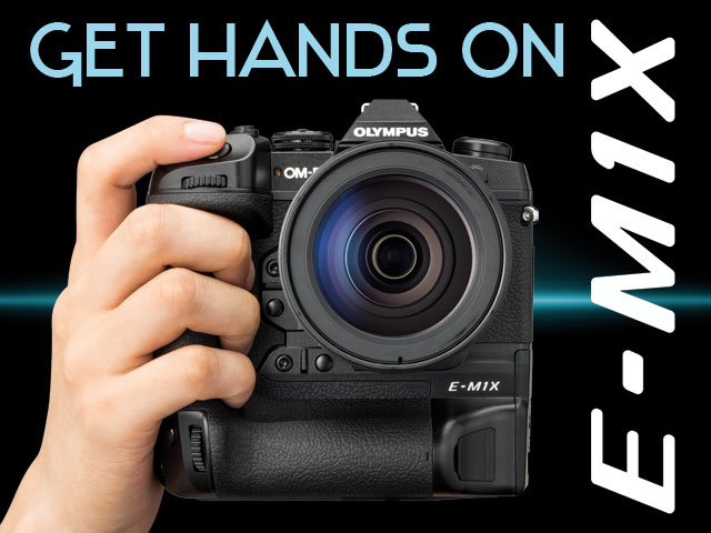 First Look at the Olympus OM-D E-M1X