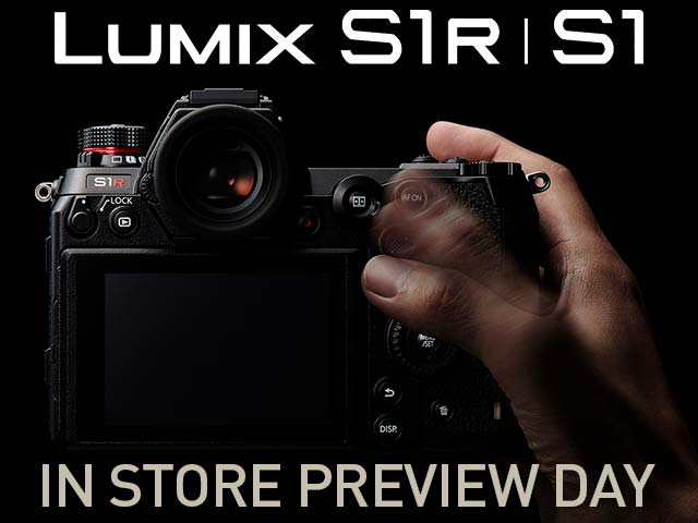 Panasonic Lumix S1 Hands-On Day