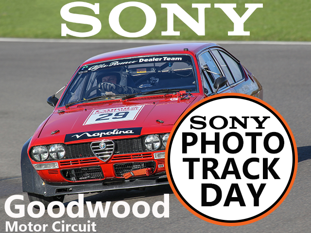 Photo Track Day at Goodwood Motor Circuit with Sony