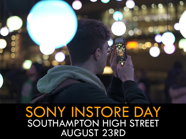 Sony In-store with Steve Marsh & Product TBA