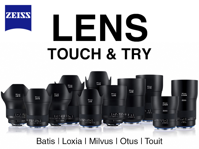 Zeiss Lens Touch and Try day
