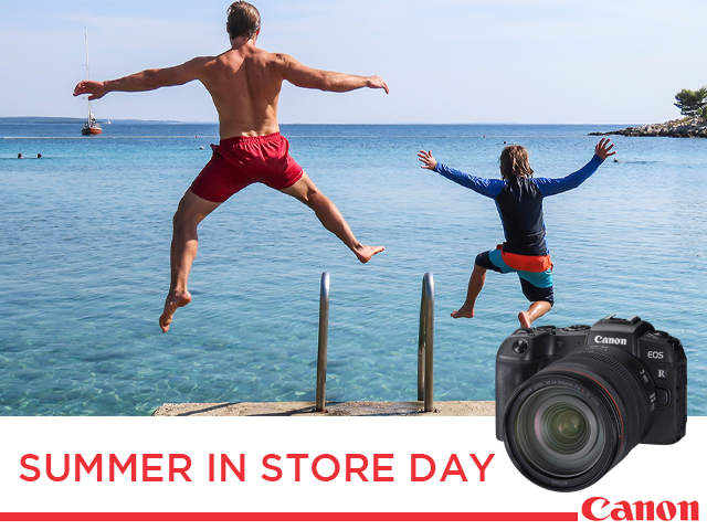 Canon Summer In Store Day!