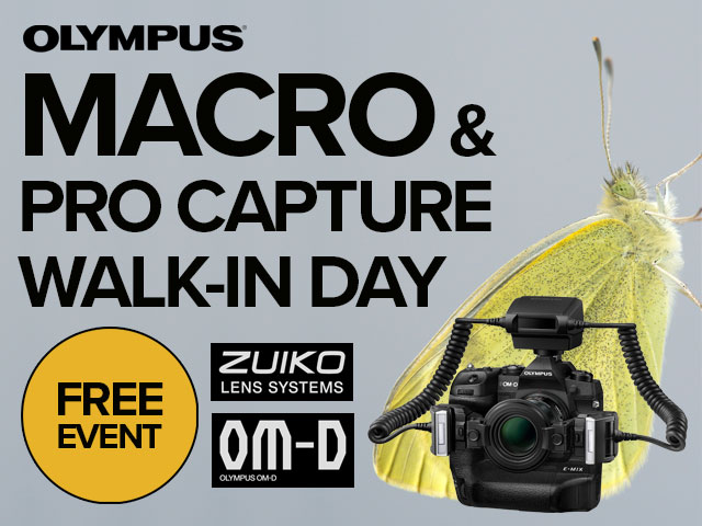 MACRO & PRO CAPTURE WALK-IN DAY