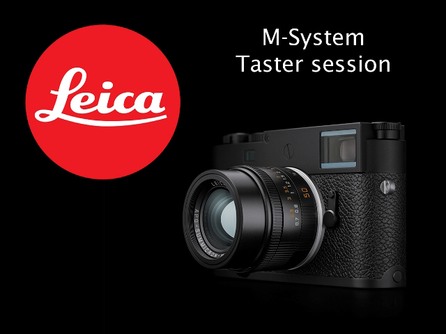 Leica M-System Taster Session | Afternoon