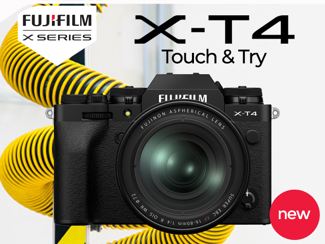 Fujifilm X-T4 Touch & Try
