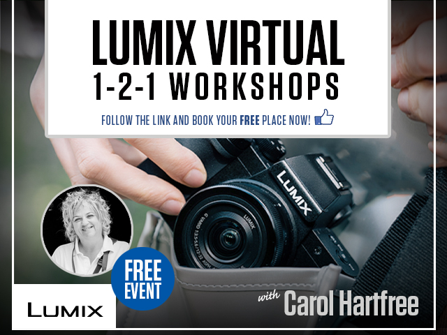 Lumix Virtual 1-2-1 Workshop