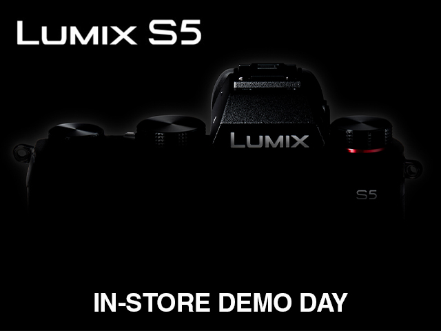 Lumix S5 Demo Day