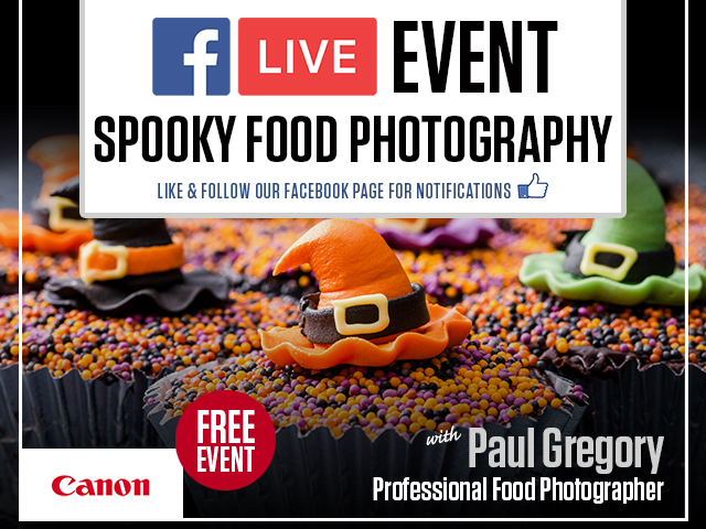 Canon Live | Spooky Food Photography with Paul Gregory