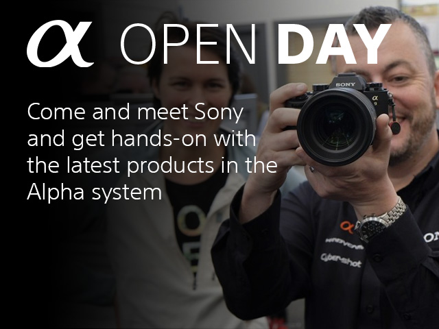 Sony Alpha Open Day