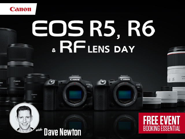 Now Fully Booked! Canon EOS R5, EOS R6 and RF Lens Online Zoom Session Demo & Tutorial Event