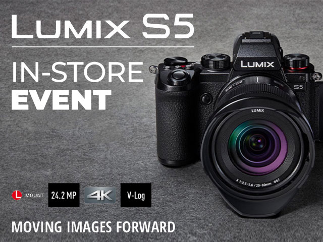 Lumix S5 IN-STORE DAY