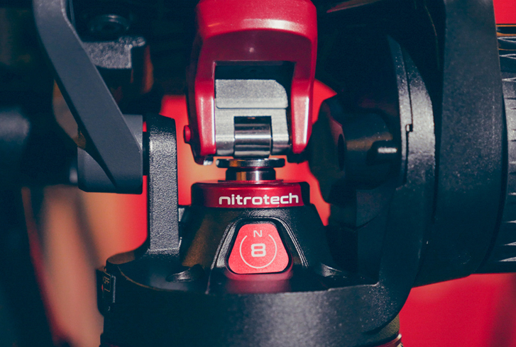 MANFROTTO NITROTECH N8 PISTON FLUID HEAD