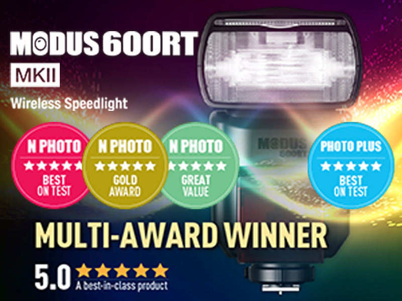 HAHNEL MODUS 600RT MK II WIRELESS FLASH WINS BIG