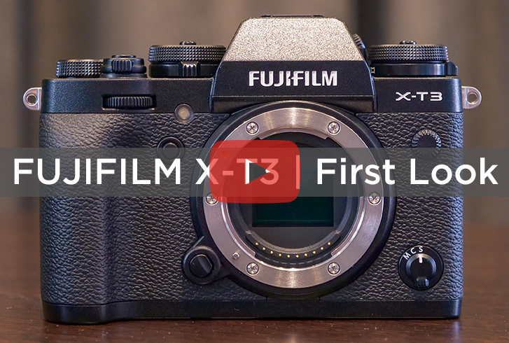 FUJIFILM X-T3 | FIRST LOOK