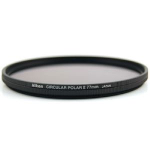 Nikon 77mm PL2 Circular Polarizing Filter II