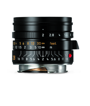 Leica Summicron-M 28mm f/2 ASPH Black