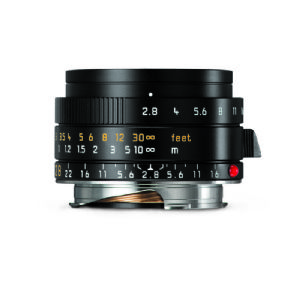 Leica 28mm f/2.8 Elmarit-M ASPH Black