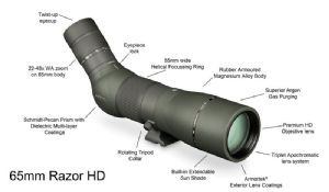 Vortex Razor HD 22-48 X 65 New version