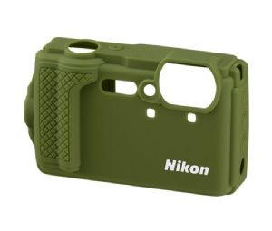 Nikon CoolPix W300 Silicone Jacket Green