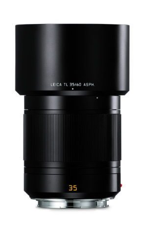 Leica 35mm f/1.4 Summilux-TL ASPH. Black anodized finish