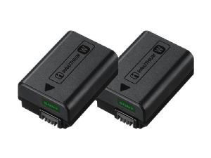 Sony NP-FW50 InfoLITHIUM W Type Rechargeable Battery Twin Pack