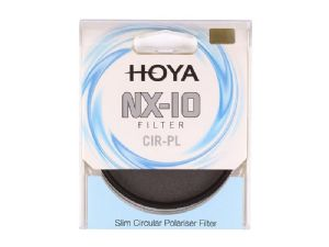 Hoya 62mm NX-10 Circular Polarising PL-CIR Slim Frame Filter