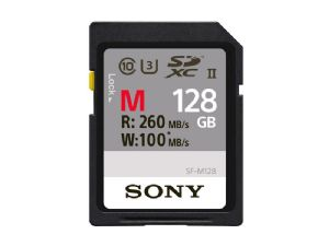 Sony 128Gb SDXC UHS-II M Series Professional Memory Card SF-M128