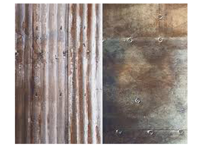 Lastolite 'Corrugated/Metal' Collapsible Urban Background 1.5m x 2.1m LB5712