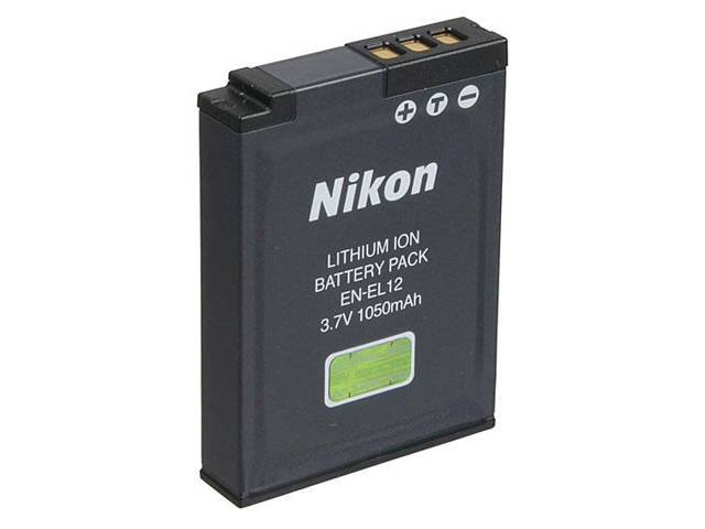 Nikon EN-EL12 Lithium-Ion Rechargeable Battery (for the new CoolPix B600 & CoolPix A1000 etc)
