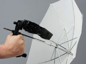 Lastolite Brolly Grip Kit + Handle & Umbrella 50cm Translucent  LL LU2126