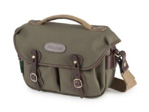 Billingham Hadley Small Pro Sage FibreNyte / Chocolate Leather