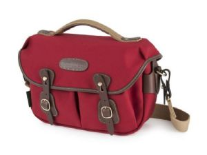 Billingham Hadley Small Pro Burgundy Canvas / Chocolate Leather