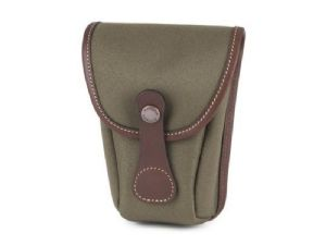 Billingham AVEA 7 End Pocket Sage FibreNyte / Chocolate Leather