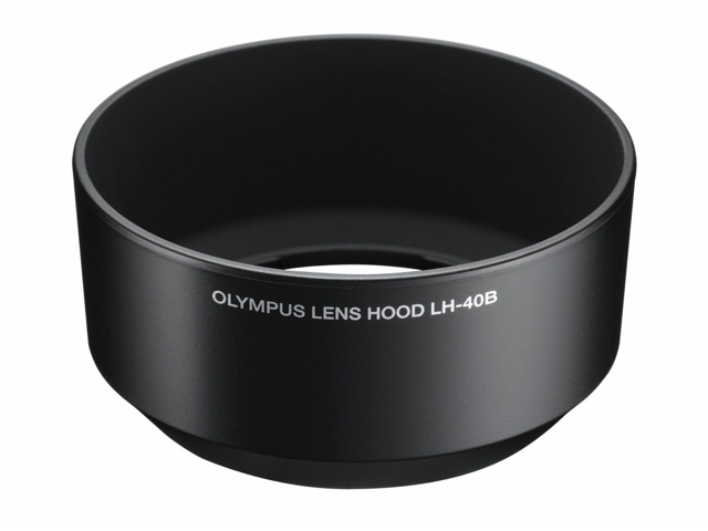 Olympus LH-40B Black Lens Hood for 45mm F1.8 Portrait Lens