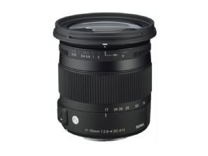 Sigma 17-70mm F2.8-4 DC Macro OS HSM Contemporary - For Canon