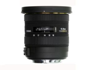 Sigma 10-20mm F3.5 EX DC HSM - For Canon