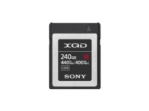 Sony 240Gb XQD G Series Professional Memory Card QD-G240F 5x Stronger