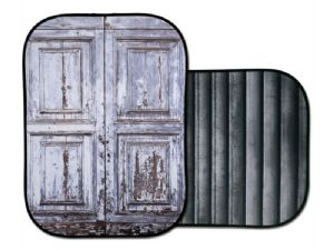 Lastolite 'Shutter/Distressed Door' Urban Collapsible Background 1.5m x 2.1m LB5717