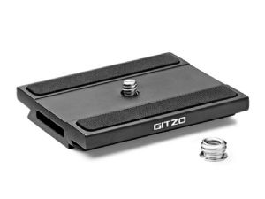 Gitzo GS5370DR Quick Release Plate Aluminum  D With Rubber