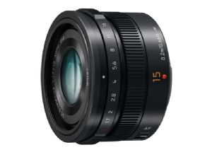 Panasonic Leica DG Summilux 15mm F1.7 Black