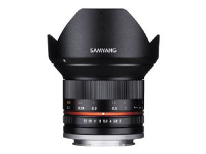 Samyang 12mm f2.0 NCS CS Lens - Fuji X Fit - Black